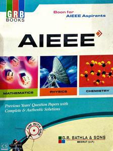 GRB AIEEE solved papers 2002 to 2009