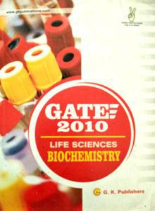 Gate 2010 Life Sciences Biochemistry