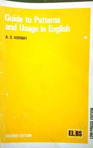 Guide to patterns and usage in English second edition