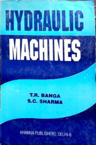 Hydraulic Machines by SC Sharma