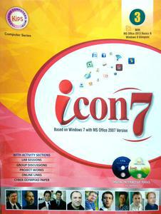 Icon 7 based on Windows 7 with MS Office 2007 version in English