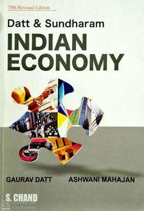 Indian Economy 70th revised edition