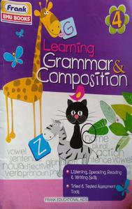 Learning grammar and composition for class 4 in English