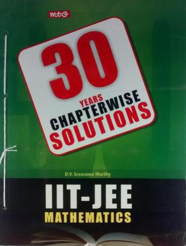 MTG 30 YEARS CHAPTERWISE SOLUTIONS IIT-JEE MATHEMATICS