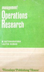 Management Operations Research