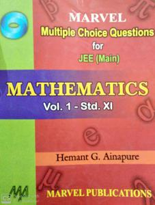 Marvel multiple choice Questions for JEE main in Mathematics volume 1 standard 11