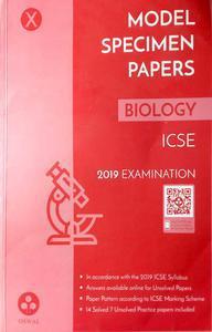 Model specimen papers biology ICSE Class 10