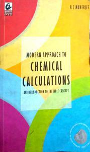 Modern approach to chemical calculations an introduction to the more concept