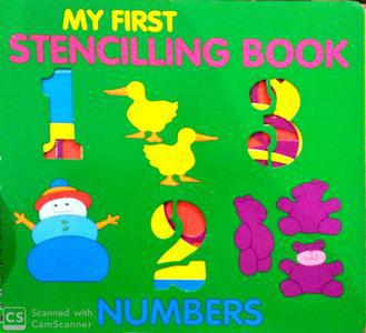 My First Stencilling book Numbers