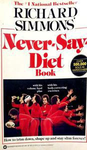 NEVER- Say Diet Book
