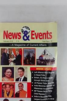 NEWS AND EVENTS  MAGZINE OF CURRENT AFFAIRS