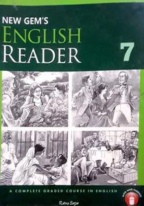 New Gem's English Reader 7 in English