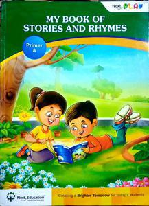 Next play my book of stories and rhymes