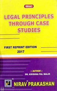Nirav Legal Principles through case studies first reprint edition