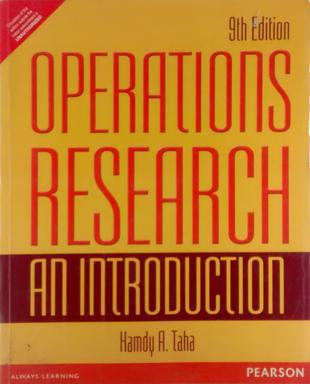 Operations Research : An Introduction (English) 9th Edition