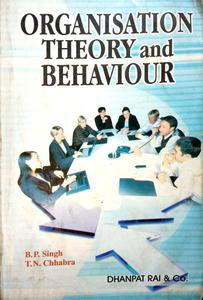 Organisation theory and behaviour in English language