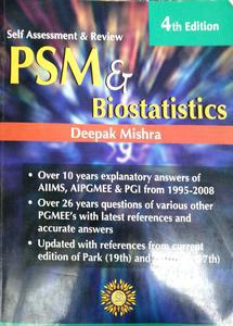 PSM and Biostatistics self assessment and review for edison