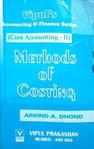 vipul's accounting and Finance series cost accounting to method of Costing