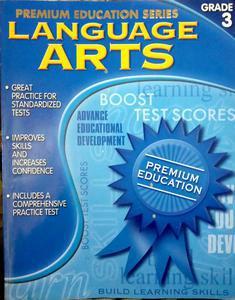 Premium education series language arts grade 3