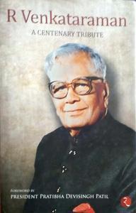 R. Venkataraman by president Pratibha Devi Singh Patil