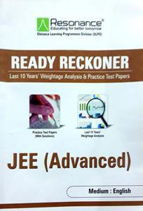 RESONANCE READY RECKONER FOR JEE (ADVANCED) PACK OF 2 BOOKS