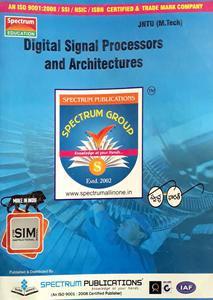 SPECTRUM PUBLICATIONS JNTU (M.TECH) STUDY MATERIAL PACK OF 4 BOOKS