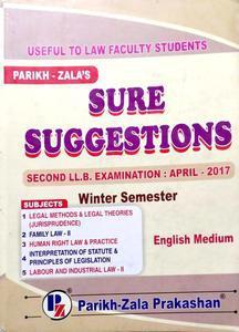 SURE SUGGESTIONAS SECOND LL.B. EXAMINATION APRIL -2017
