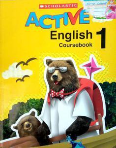 Scholastic active English coursebook 1 in English language