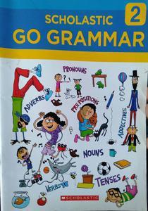 Scholastic go grammar for class 2 in English