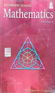 Secondary School Mathematics for Class 9 by R S Aggarwal  English Language