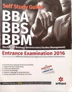Self Study Guide BBA BBS BBM