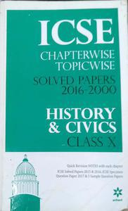 ICSE chapterwise topicwise solved paper class 10