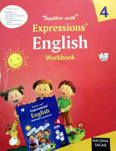Together with expressions English Workbook for class 4