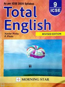 Total English revised edition for class 9 ICSE ICSE 2020 syllabus