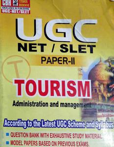 UGC NET/SLET paper 2 Tourism administration and management