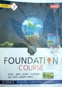 foundation course 7 NTSE NVS KVPY BOARDS JEE PETS AIPMT PMTS