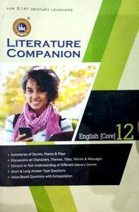 literature companion English core 12 for 21st century learners