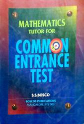 mathematics tutor for common entrance test by SS Bosco