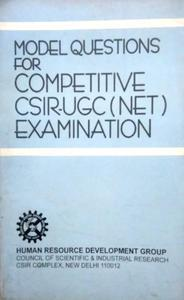 model questions for competitive CSIR UGC (NET) EXAMINATION