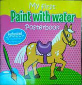 my fast paint with water poster book by na