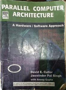 parallel Computer Architecture A hardware/ software Approach